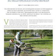 K/vW Belevingsonderzoek in tijdschrift GRAM